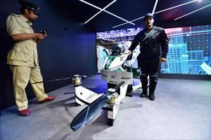 Cảnh sát Dubai được trang bị xe mô tô bay