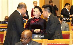 Chủ tịch Quốc hội Nguyễn Thị Kim Ngân kết thúc chuyến tham dự Đại hội đồng IPU-137