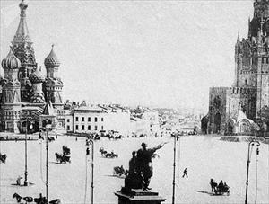 """Ngắm thủ đô Matxcơva """"thay da đổi thịt"""" trong 100 năm"""