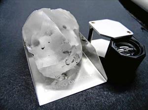 Phát hiện viên kim cương khổng lồ cực hiếm