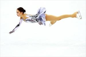 """Olympic mùa Đông 2018: """"Thiên thần"""" Zagitova giành tấm HCV đầu tiên cho nước Nga"""