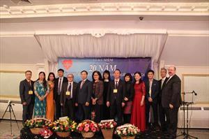 Thư cảm ơn của Ban tổ chức Lễ kỉ niệm 20 năm thành lập Hội Y Dược VN tại LB Nga