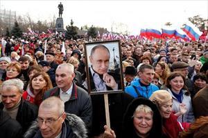 Những hình ảnh ấn tượng trước thềm bầu cử Tổng thống Nga