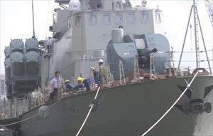 Tự hào sức mạnh tàu tên lửa Việt Nam chế tạo