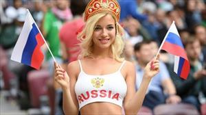 """Bất ngờ trước nghề nghiệp của cổ động viên """"quyến rũ nhất"""" World Cup 2018 tại Nga"""