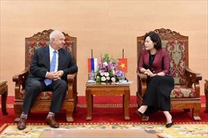 Tăng cường hợp tác trong lĩnh vực ngân hàng giữa Việt Nam - Liên bang Nga