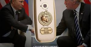 Nokia 3310 phiên bản Nga - Mỹ làm từ titanium và vàng 24K