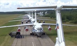 50 vận tải cơ hạng nặng Nga tham gia diễn tập đổ bộ đường không