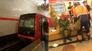 Quân nhân Nga sống sót kỳ diệu sau khi lao đầu vào tàu điện