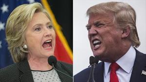 Ông Trump bất ngờ tăng tốc, áp sát bà Clinton