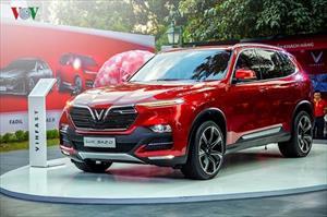 Ngắm VinFast Lux SA 2.0 - SUV mang thương hiệu Việt