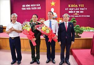 3 địa phương có tân Chủ tịch, Phó Chủ tịch UBND tỉnh