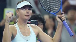 Sharapova thắng kịch tính ở trận ra quân China Open