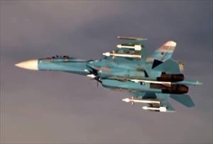 """Máy bay chiến đấu Nga buộc một """"kẻ xâm nhập"""" phải hạ cánh"""