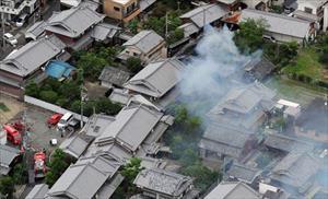 Tokyo và các tỉnh phụ cận lại rung chuyển bởi động đất
