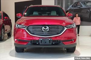 Ảnh chi tiết Mazda CX-8 vừa ra mắt tại Malaysia