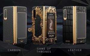Samsung Galaxy Fold có phiên bản mạ vàng dành cho Game of Thrones