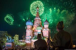 Những hình ảnh pháo hoa đẹp tại Nga