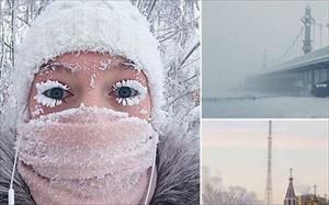 Nga: Cuộc sống ở nơi nhiệt kế bị phá vỡ vì quá lạnh