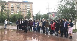 Chi bộ trường Đại học Tổng hợp Hữu nghị các dân tộc Nga tổ chức Kỷ niệm 128 năm ngày sinh Chủ tịch Hồ Chí Minh