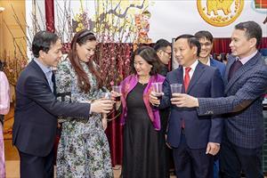 Cộng đồng người Việt Nam tại LB Nga tưng bừng đón Tết Kỷ Hợi