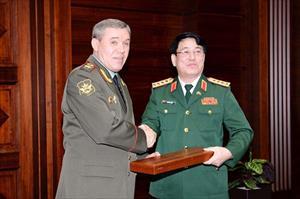 Đại tướng Lương Cường thăm chính thức Liên bang Nga