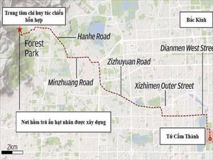 Trung Quốc xây hầm trú ẩn hạt nhân sâu 2km sát Bắc Kinh