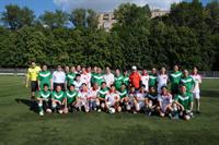 Tin ảnh: Trận thi đầu giao hữu Giải bóng đá cộng đồng 2012
