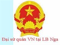Thông báo Ban công tác cộng đồng - ĐSQ Việt Nam tại L.B Nga