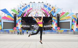 Du học sinh Nga tham dự Festival Thanh niên và Sinh viên thế giới lần thứ XIX