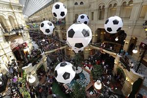 Ngành tiêu dùng Nga hưởng lợi từ World Cup