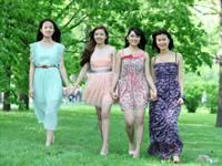 Những cô gái 9x trẻ trung năng động ở Moscow