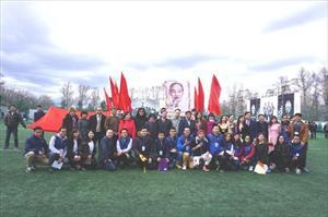 Đại hội Thể thao Sinh viên Việt Nam tại Moskva lần thứ 20 khai mạc