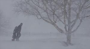Điển hình nước Nga: Người nước ngoài kinh ngạc vì video cảnh học sinh đi trong bão tuyết