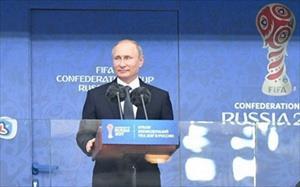 Khai mạc Confed Cup: Tổng thống Putin tin bóng đá mang đến đoàn kết