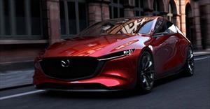 Mazda 3 2019 thế hệ mới lộ bản phác thảo thiết kế