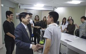Yêu mến nước Nga và chăm chỉ lao động: Lãnh sự động viên sinh viên Việt Nam