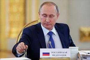 Chiếc bút của Tổng thống Nga Putin có giá 77.170 USD