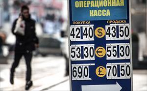 Nga: Tỷ giá ngoại tệ đảo chiều