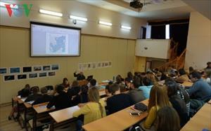 Sinh viên Nga tìm hiểu cơ chế pháp lý giải quyết tranh chấp Biển Đông