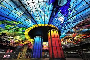10 ga tàu điện ngầm đẹp nhất thế giới