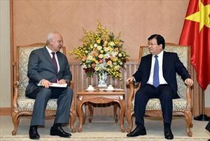 Đại sứ Nga tại Việt Nam gặp Phó Thủ tướng Trịnh Đình Dũng