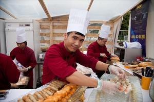 Nhà hàng Viet Soul trong ngày thứ hai của Festival ẩm thực Quốc tế