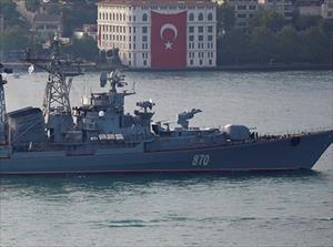 Hải quân Nga tập trận chống tàu ngầm trên Địa Trung Hải