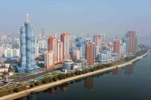 Thủ đô Bình Nhưỡng nhìn trên cao sẽ như thế nào?