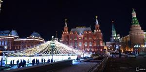 Du khách sẽ được chiêm ngưỡng gì trong năm mới 2018 và Giáng sinh ở Moscow