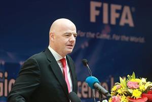 """Chủ tịch FIFA: """"Việt Nam có cơ hội dự World Cup"""""""