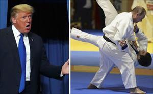 Video: Ông Trump tuyên bố có thể thắng khi đấm bốc với ông Putin