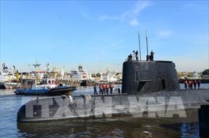 Đã xác định vị trí tàu ngầm Argentina mất tích một năm trước