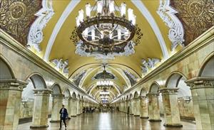 Video: Khám phá ga tàu điện ngầm đẹp như cổ tích tại Nga
